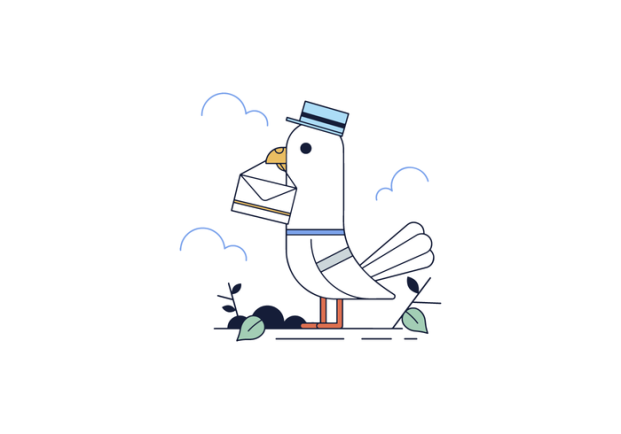 free-messenger-pigeon-vector