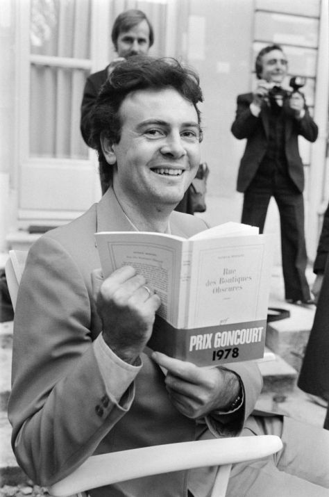 Patrick Modiano after winning the Prix Goncourt in 1978.
